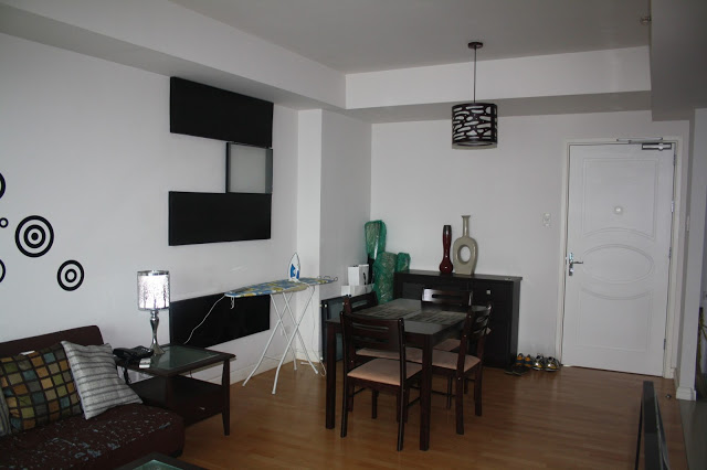 Photo of our dining area in One Rockwell East tower