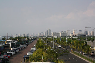 Photo of the view of Manila from Mall of Asia
