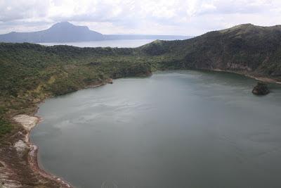 Photo of Taal Volcano Island's lake