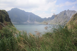 Photo of Mount Pinatubo crater