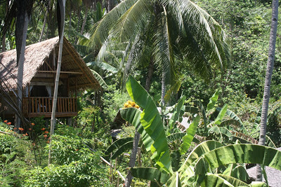 Photo of bamboo hut at Coco Beach resort