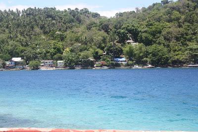 Photo of the blue sea off Mindoro