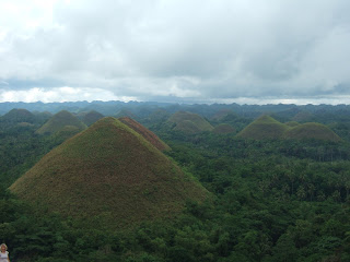 Photo of the Chocolate Hills