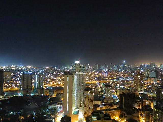 Photo of Manila looking towards Manila Bay
