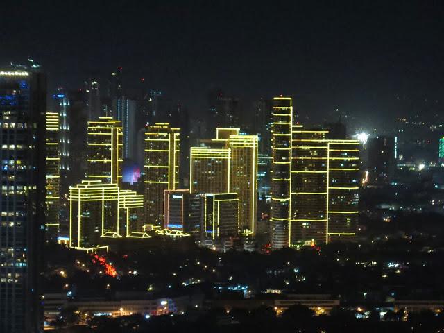 Photo of Manila looking towards Rockwell