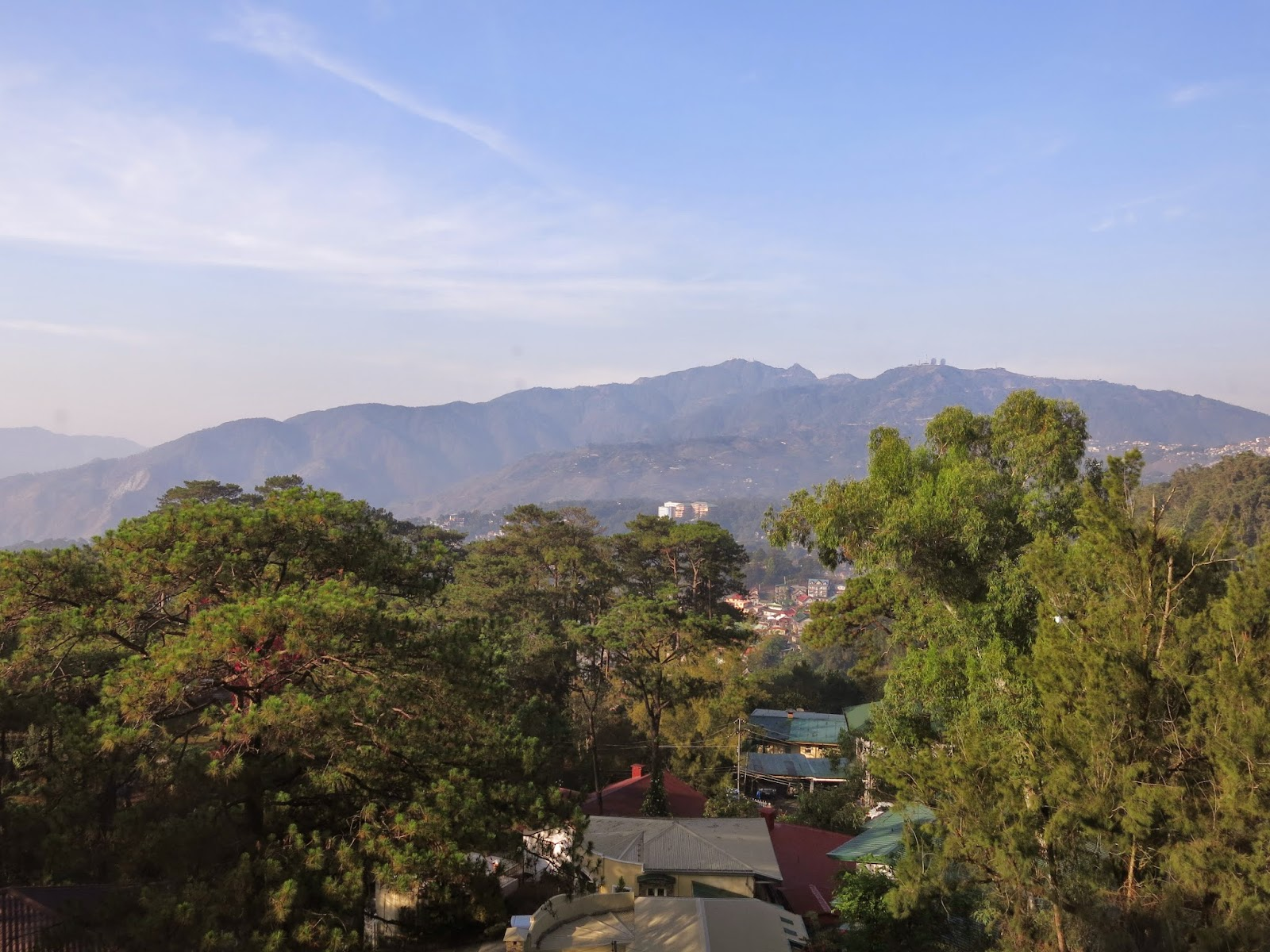 Photo of view from Chalet Baguio hotel