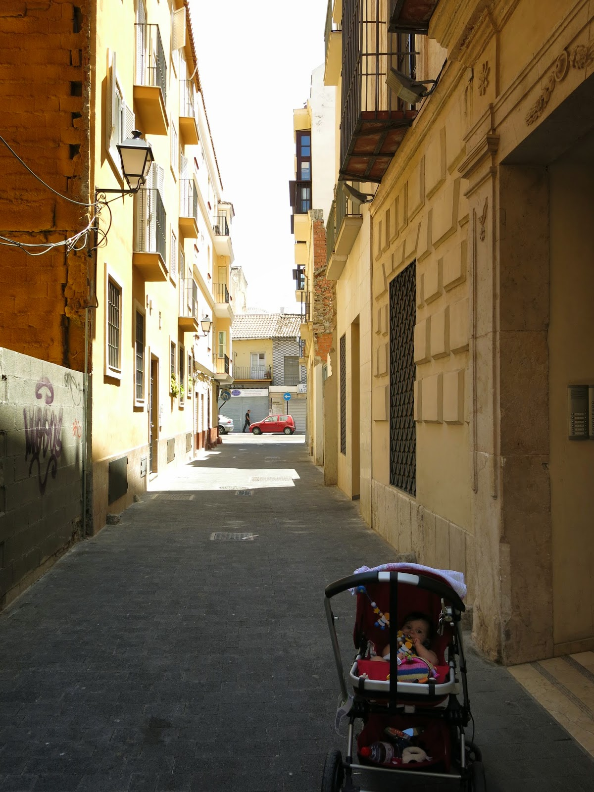 Photo of our street in Malaga