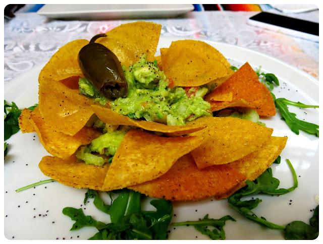 Photo of guacamole and nachos at Cielito Lindo in Nerja