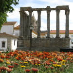 Photo of a monument in Evora
