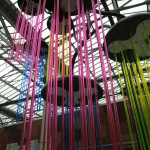 Photo of a decoration in Waverley station