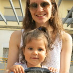 Photo of Eilidh with Auntie Sarah